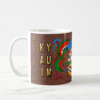 KAI YUM- RED- CANCUN MEXICO COFFEE MUG