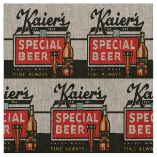 Kaier's Special Beer Fabric