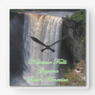 Kaieteur Wall Clock