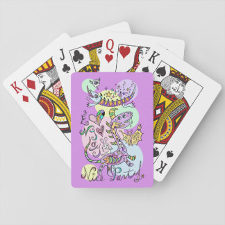 kaijiyuu pleasant party* playing cards