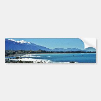 Kaikoura Range, South Island Bumper Sticker
