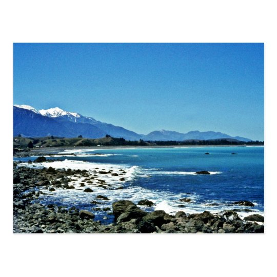 Kaikoura Range, South Island Postcard