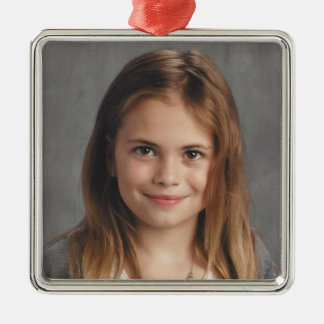Kailey's 2016 metal ornament