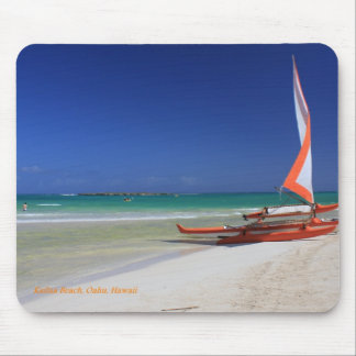 Kailua Beach on the island of Oahu, Hawaii Mouse Pad