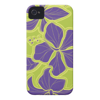 Kailua Hibiscus Hawaiian Floral iPhone 4 Cases