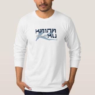 Kainaku Mens Fitted Long Sleeve T-Shirt