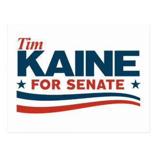 KAINE - Tim Kaine for Senate Postcard