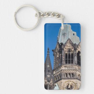 Kaiser Wilhelm Gedachtnis Kirche, Berlin Single-Sided Rectangular Acrylic Keychain