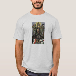 Kaiser Wilhelm II - German Propaganda postcard T-Shirt