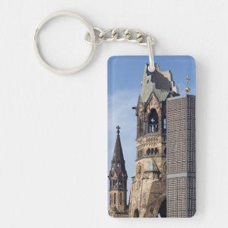 Kaiser Wilhelm Memorial Church, Berlin Single-Sided Rectangular Acrylic Keychain