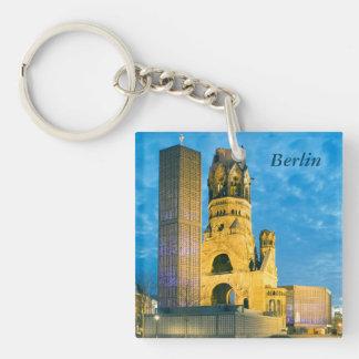 Kaiser Wilhelm Memorial Church, Berlin Single-Sided Square Acrylic Keychain
