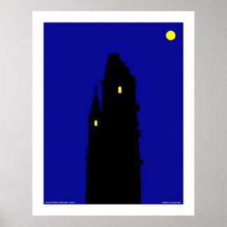 Kaiser Wilhelm Memorial - for canvas Poster