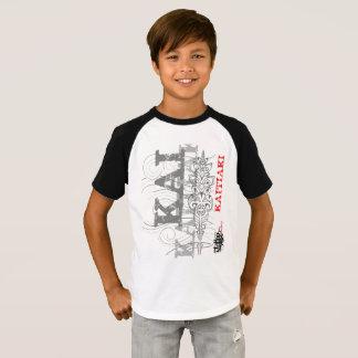 Kaitiaki - Maori guardians (white t-shirt) T-Shirt