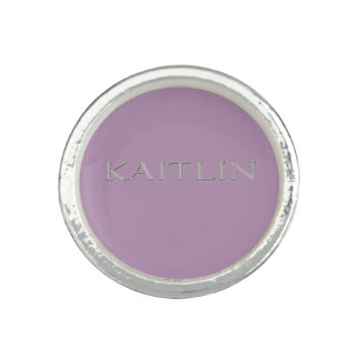 Kaitlin Custom Name Ring