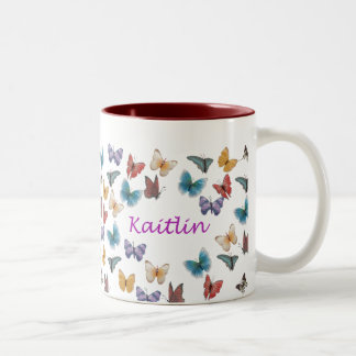 Kaitlin Two-Tone Coffee Mug