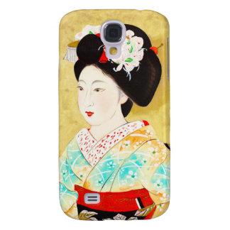 Kajiwara Hisako A Kyoto Maiko geisha fine art Galaxy S4 Cover