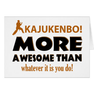 KAJUKENBO! DESIGN CARD