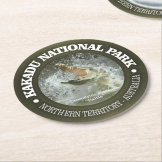 Kakadu National Park Round Paper Coaster