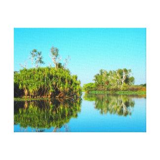 Kakadu reflections canvas print