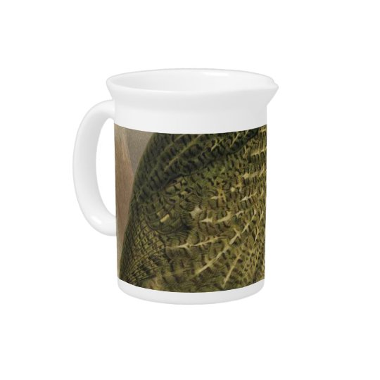 Kakapo Semi-Abstract Beverage Pitchers
