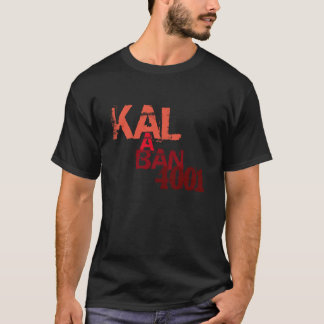 Kalaban 4001 Black Streamer T-Shirt Standard Fit