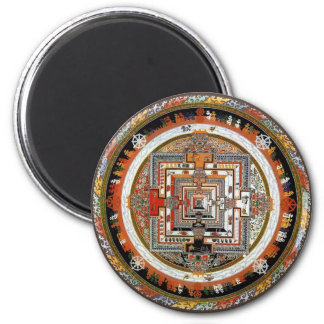 Kalachakra Mandala Magnet