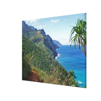 Kalalau Trail Canvas Print