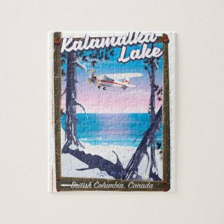 kalamalka lake, British Columbia Canada Jigsaw Puzzle
