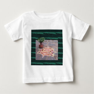Kalas Vase swastika rangoli indian wedding Symbols Baby T-Shirt