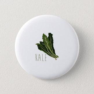 Kale 2 Inch Round Button