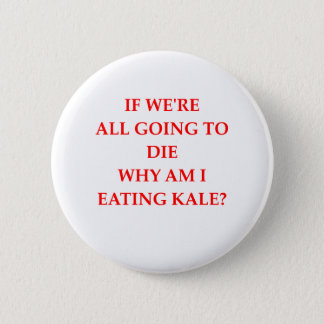KALE 2 INCH ROUND BUTTON