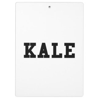 Kale College Font Funny Clipboard