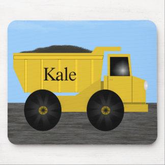 Kale Cool Dump Truck Mousepad