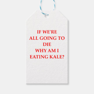 KALE PACK OF GIFT TAGS