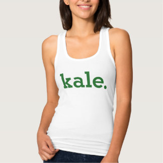 Kale. Tank Top