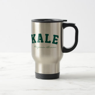 Kale University Custom Name Vegan Style Mug