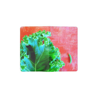 Kale with Worm Garden notebook