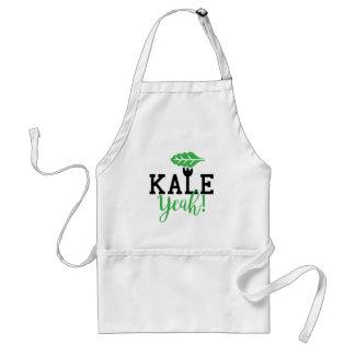 Kale Yeah Funny Vegan Design Standard Apron