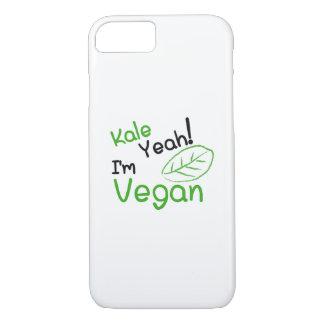 Kale Yeah I'm Vegan Vegetarian Funny Gift iPhone 8/7 Case