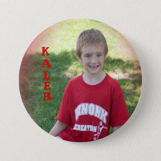 kaleb 3 inch round button