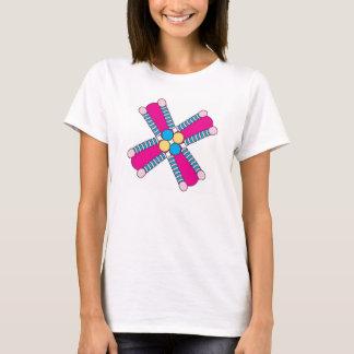 kaleidoflower hot pink T-Shirt