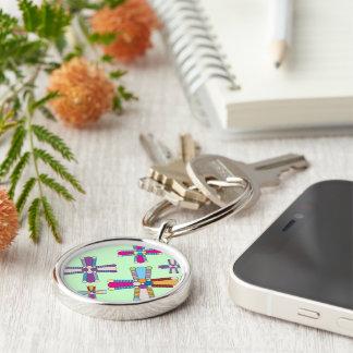 Kaleidoflower Keychain