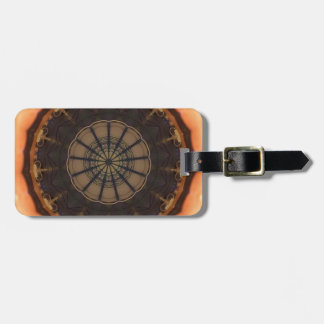 Kaleidoscope 1 luggage tag
