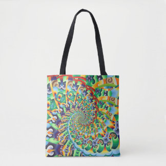 Kaleidoscope 66 tote bag