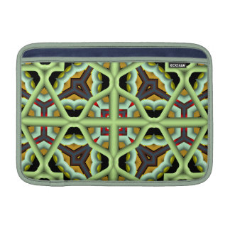 Kaleidoscope Abstract Multicolored Pattern MacBook Air Sleeve