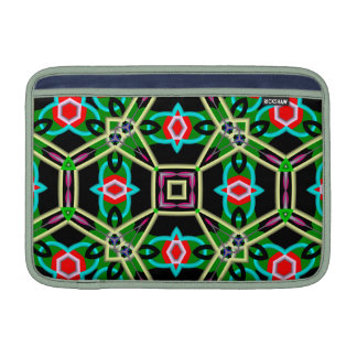 Kaleidoscope Abstract Multicolored Pattern MacBook Air Sleeves