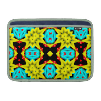 Kaleidoscope Abstract Multicolored Pattern MacBook Sleeve