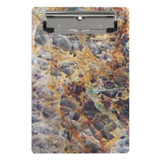 Kaleidoscope Agate Pattern Mini Clipboard