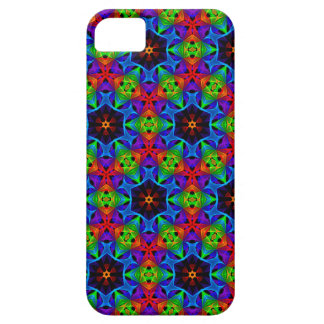 Kaleidoscope and Spirograph Polychromatic Polygons iPhone 5 Case