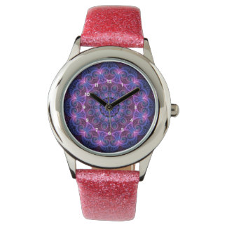 Kaleidoscope Apophysis Mandala Hearts Watch